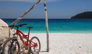 Mountainbike Thassos